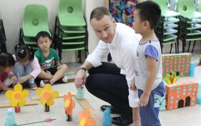Kindergarten in Taiwan _ Southern University